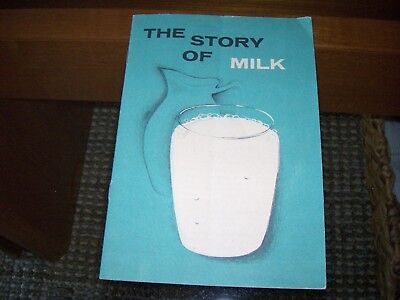 Vintage 1957 Machtley's Dairy Windber PA The Story of Milk Cows Farm Penna