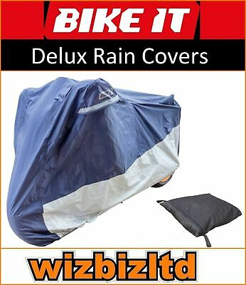 Deluxe Polyester Ventilated Motorcycle Raincover Kawasaki 1000 Z A 2005 RCODEL02