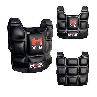 8Kg Weighted Weight Vest Adjustable Crossfit Mma Strength Training Running Gym