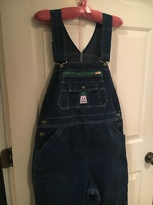 Vintage Lady Liberty Overalls 14 Average Nonadjustable Please Read
