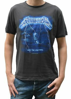 Official Amplified Metallica Ride The Lightning Crew Neck T-Shirt