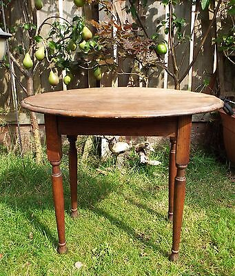 Vintage Oak Side / Coffee Table Ideal Shabby Chic Upcycle Project
