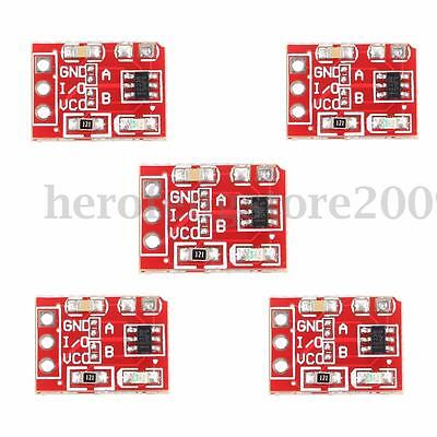 5pcs TTP223 Touch Key Module Capacitive Settable Self-lock Switch For Arduino