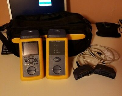 Fluke DSP-4000 and DSP-4000SR Cat 5 and Cat 6 Bundle