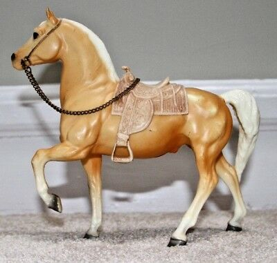 Breyer Horse #112 Cheyenne Western Prancing Horse with Saddle Mold 110