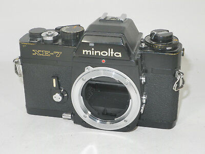 Minolta XE-7 35mm SLR Camera Body