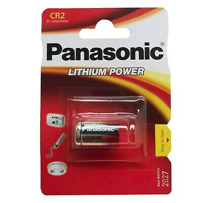 1 Pcs Panasonic CR2 3V Lithium Power DL2A CR17355 FREE SHIPPING