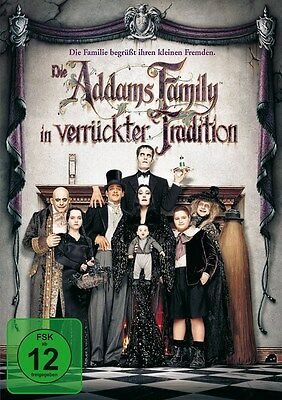 DVD DIE ADDAMS FAMILY IN VERRÜCKTER TRADITION # Christina Ricci ++NEU