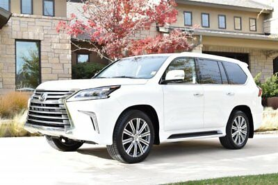 2017 Lexus LX  2017 Lexus LX 570 Red Leather Interior