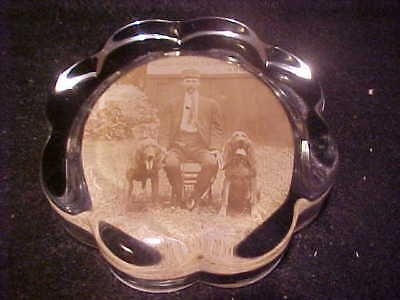 Vintage Moundsville WV State Penitentiary Paperweight, Bloodhounds photo