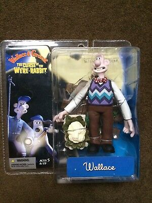 Wallace & Gromit The Curse Of The Were- Rabbit 'Wallace ' NIB