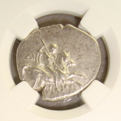 Ca. 281-240 BC Calabria, Taras Ancient Greek Silver Didrachm or Stater NGC VF