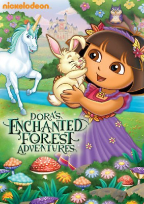 DORA THE EXPLORER-Dora The Explorer: Dora`S Enchanted Forest Adventures  DVD NEW
