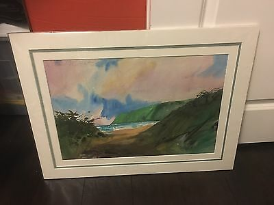 """""""kauai"""" Watercolor Painting By William Condit (Sand Dollar Gallery)"""