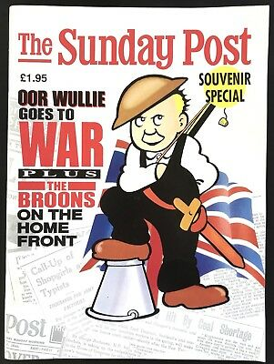 OOR WULLIE GOES TO WAR - SUNDAY POST SOUVENIR SPECIAL (Paperback, 1989)