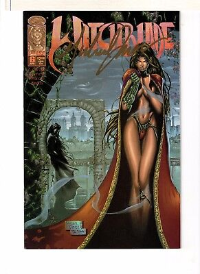 Witchblade #6 Signed Michael Turner 8.5 Very Fine+