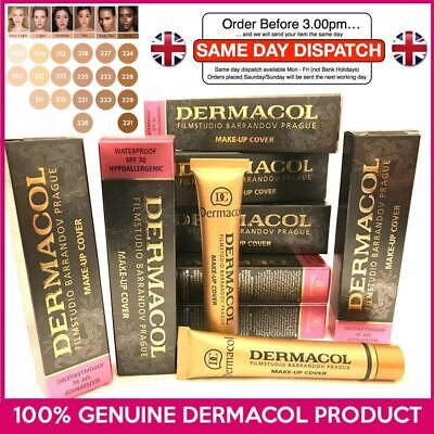 GENUINE Dermacol Makeup Cover Legendary High Covering Camouflage Foundation UK