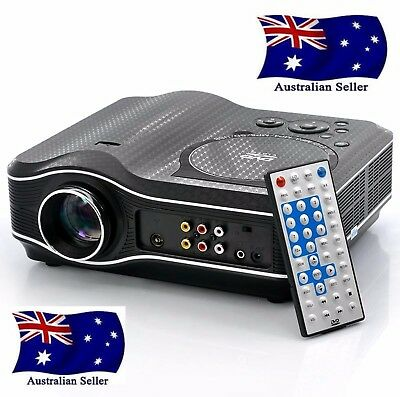 DVD Projector with DVD Player Built In DVD Player Projector AUS SELLER FAST POST