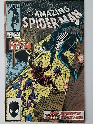 Amazing Spider-Man #265 NM 1st app Silver Sable First Print Marvel