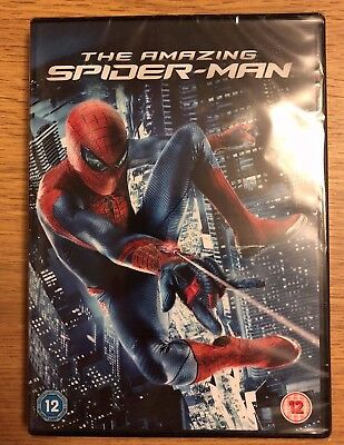 New Sealed The Amazing Spider-Man (DVD, 2012)