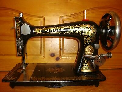 Singer vintage sewing machine model 27