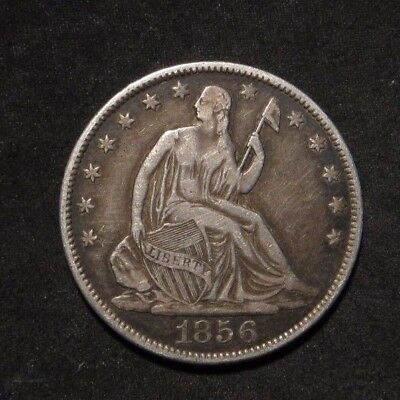 1856-O Seated Liberty Half Dollar 50¢- VF