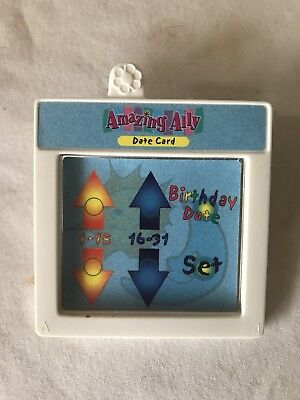 "Amazing Ally 18"" Interactive Doll Book Tea Party Date Game Card Cartridge"