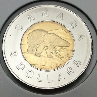 2006 Canada 2 Two Dollar Toonie Brilliant Uncirculated Coin Not In Case C623