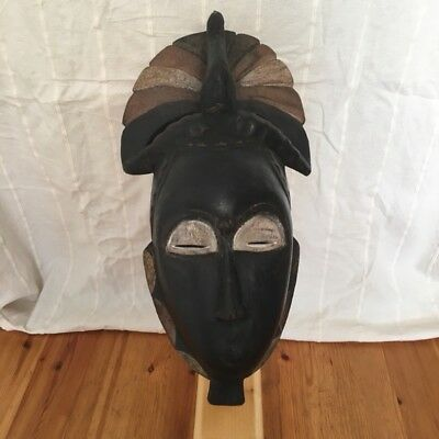 Yaure Peacock Mask - Ivory Coast - African Tribal Art - Sublime And Beautiful