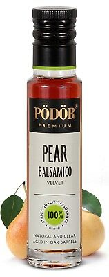 Podor Premium Pear Balsamico Velvet  Natural and Clear 250ml