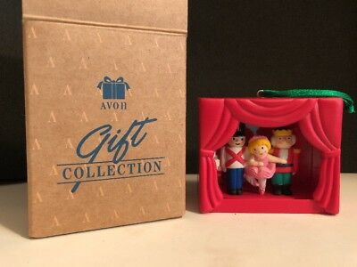 Avon Collection Storybook Classic The Nutcracker Christmas Light Up Ornament NIB