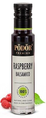 Podor Premium Raspberry Balsamico 100ml Nature and Clear