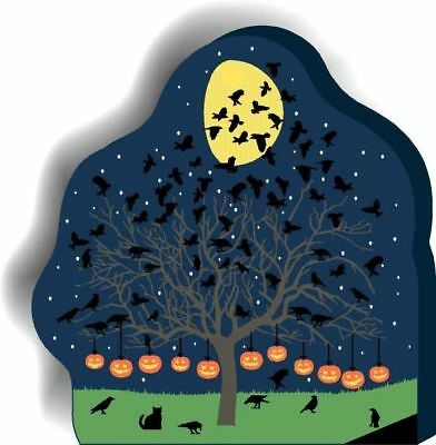 Cat's Meow Village Halloween Starling Tree #13-633 NEW *SHIPPING DISCOUNTS*