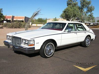 1985 Cadillac Seville Slantback 1985 Cadillac Seville - Only 19K Miles - Wire Wheels - Mint Original Car - WOW!