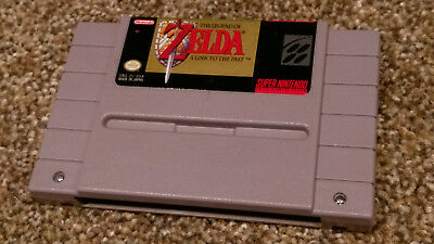 The Legend of Zelda: A Link to the Past Super Nintendo SNES game lot TESTED!