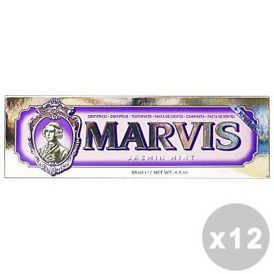 MARVIS Set 12 MARVIS Dentifricio jasmin mint 85 ml. - dentifrici