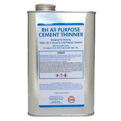 1 Quart All Purpose Cement Thinner - high-grade industrial solvent-based thinner