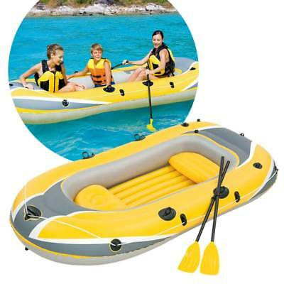 Bestway 2.55m x 1.27m Hydro-Force Inflatable Raft Set Float Water Sport Boat