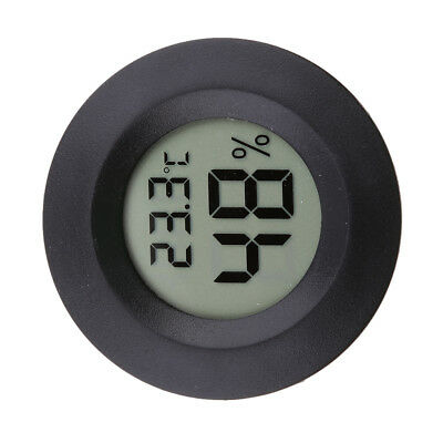 Mini Indoor Outdoor Hygrometer Humidity Thermometer Round Temperature Meter