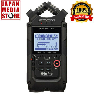 ZOOM H4nPro H4n Pro Linear PCM IC Digital Handy Recorder 100% Genuine Product