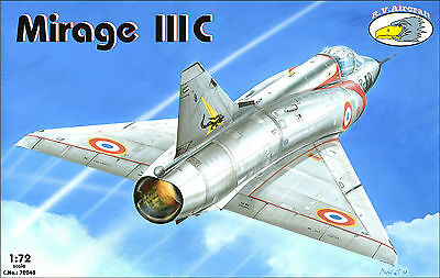 RV Aircraft 1/72 Mirage IIIC plastic kit