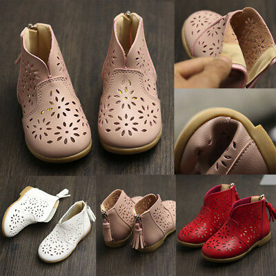 Girl Breathable Toddler Baby Boot Casual Shoes Kids Children Princess Shoes Hot