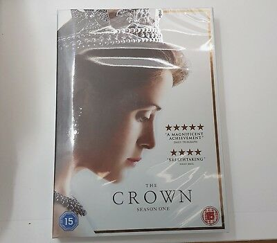 The Crown Complete Season 1 Uk Region 2 Uk Dvd Boxset Xmas Offer Limited Stock