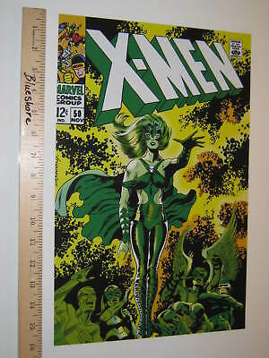 X-men Cyclops Jean Grey Angel Beast Iceman 1st Polaris by Jim Steranko Poster 50