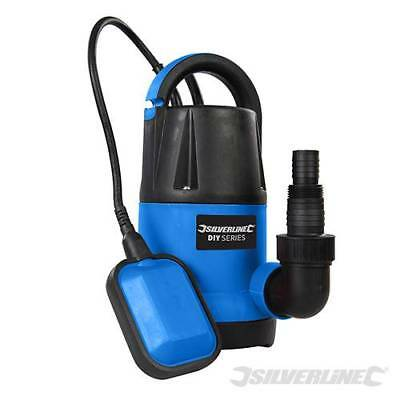 Heavy Duty Silverline 250W Submersible Electric Clean Water Pump New