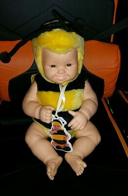 """Anne Geddes 15"""" Bumble Bee Doll"""