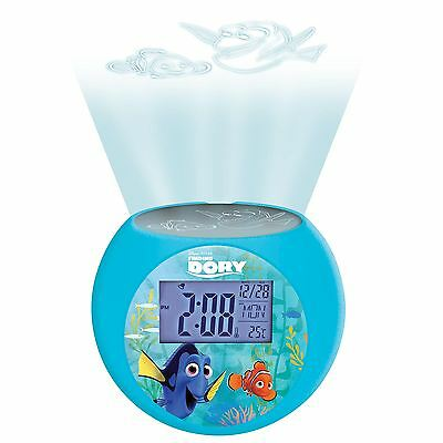 Finding Dory Projector Alarm Clock - Childrens Bedroom Official