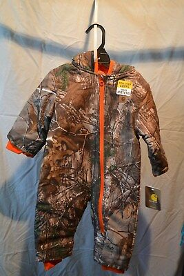 Carhartt Snowsuit Infants/Toddlers/Kids Real Tree Camo NWT