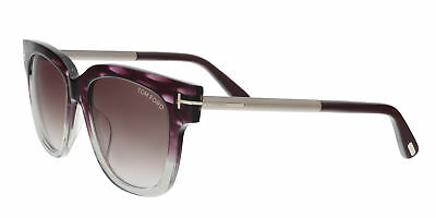 460c9f7c627b AUTHENTIC TOM FORD Sunglasses Saskia TF330 82B Purple Frame Violet ...