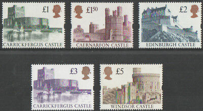 Sg 1611-1614 Harrison Castles UNMOUNTED MINT/MNH